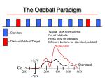 the oddball paradigm
