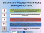 beschluss der mitgliederversammlung euroregion neisse e v