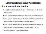 american spinal injury association
