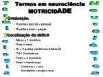 termos em neuroci ncia motricid ade