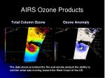 airs ozone products
