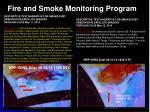 fire and smoke monitoring program1