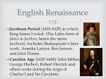 english renaissance1