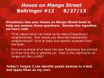 house on mango street bellringer 12 8 27 13