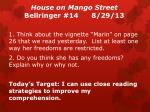 house on mango street bellringer 14 8 29 13