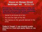 house on mango street bellringer 8 8 21 13