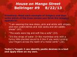 house on mango street bellringer 9 8 22 13