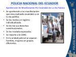 aprehensi n de manifestantes por esc ndalo en la v a publica