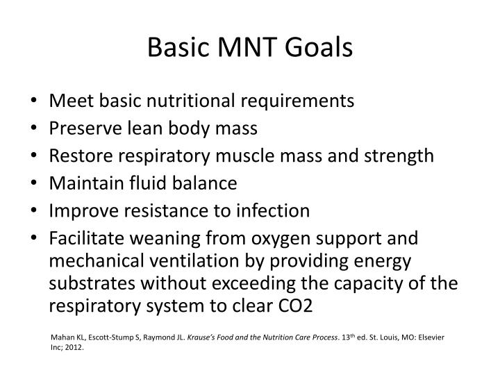 basic mnt goals n.