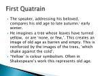 first quatrain1