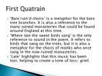 first quatrain2