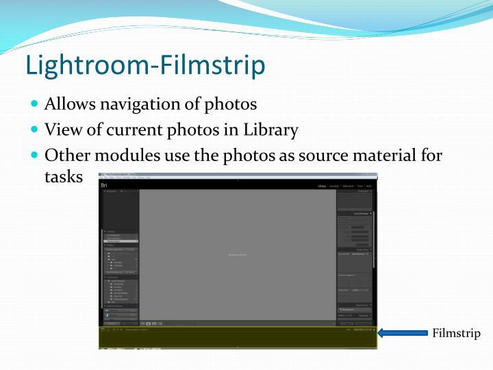 Lightroom-Filmstrip