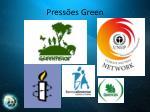 press es green