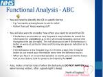 functional analysis abc1