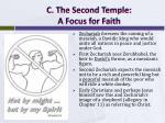 c the second temple a focus for faith1