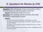 d questions for review p 224
