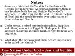one nation under god jew and gentile