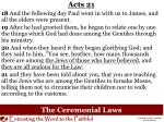 the ceremonial laws