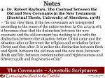 the covenants apostolic scriptures1