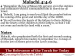 the relevance of the torah for today1