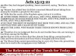 the relevance of the torah for today2