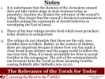 the relevance of the torah for today3