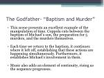 the godfather baptism and murder