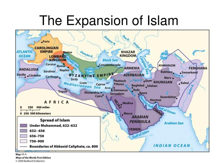 The Expansion of Islam