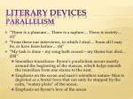 literary devices parallelism