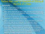 factors that lead to cessation of eating at the end of a meal2