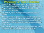 physiology of type i diabetes1