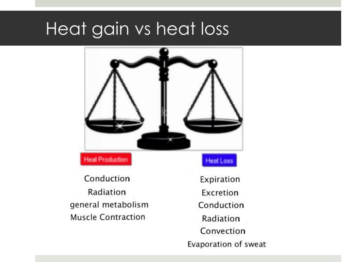 Heat gain