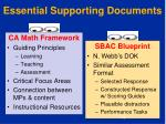 essential supporting documents