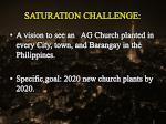 saturation challenge