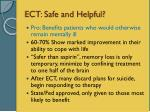 ect safe and helpful