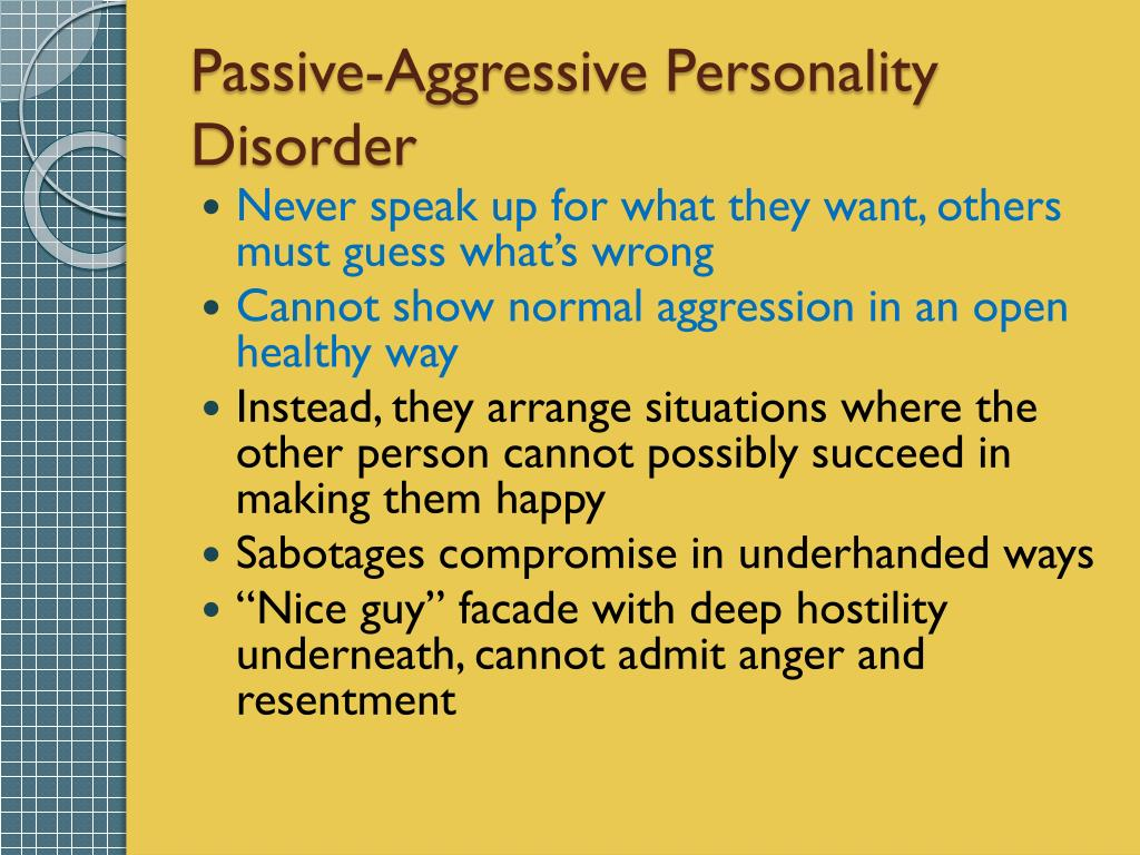 PPT - The Troubled Personality PowerPoint Presentation - ID