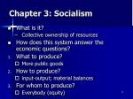chapter 3 socialism