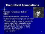 theoretical foundations2
