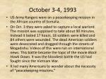 october 3 4 1993