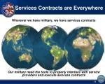 services contracts are everywhere