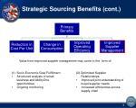 strategic sourcing benefits cont2