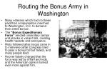 routing the bonus army in washington