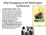 ship scrapping at the washington conference1