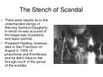 the stench of scandal1