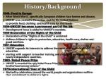 history background
