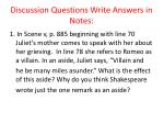 discussion questions write answers in notes