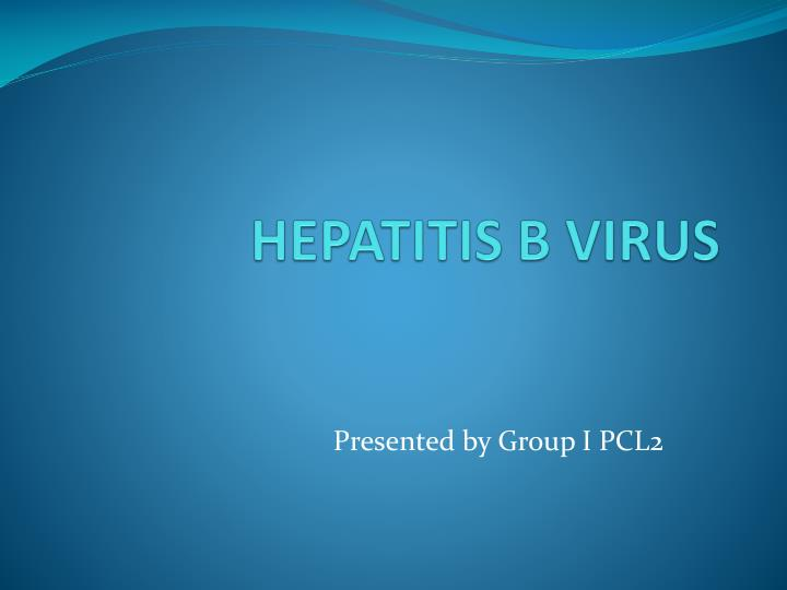 hepatitis b virus n.