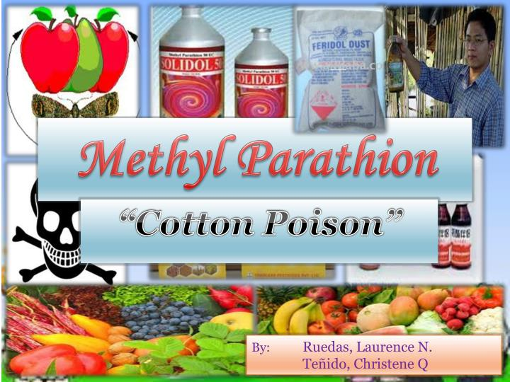 methyl parathion n.