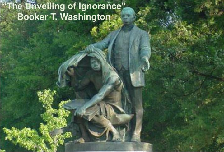 """""""The Unveiling of Ignorance"""""""