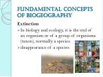 fundamental concepts of biogeography2
